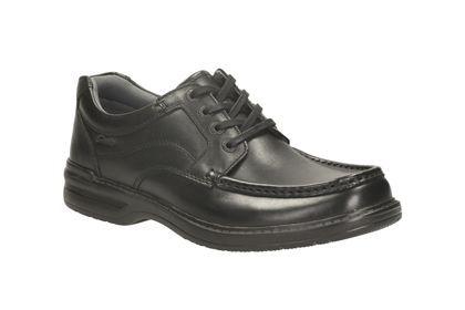 CLARKS chaussures KEELER WALK noir cuir
